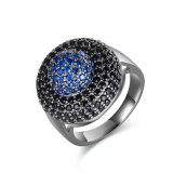 Retro Juwelen van Custome van de Ring van Shinning Blauwe CZ van de Stijl