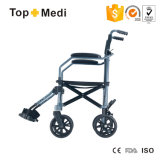 Topmedi 2017 fauteuils roulants portatifs légers en aluminium fois de valise de course