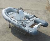 Aqualand 13feet 4mの肋骨のモーターボートか堅く膨脹可能な漁船または川船(RIB400)