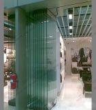 Porte d'entrée bi-pliante de verre de réponse (BHA-DBF14)