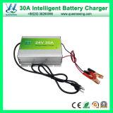 24V 30um carregador de bateria inteligente para bateria de chumbo-ácido (QW-B30A24)