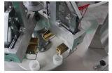 La mantequilla de maní llenado y sellado de la máquina