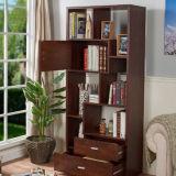 Moderner Entwurfs-Amerika-Art MDF-Bücherregal-Bücherregal