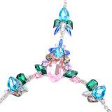 New Design Women Fashion Jewelry Hook Rhinestone Cup Body Chain Jewelry for Women