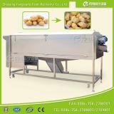 Máquina vegetal da lavagem e de casca do gengibre da capacidade elevada com