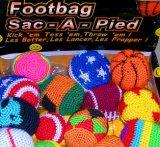Het Jongleren met van de Zak Hacky van de Hand van de douane Gehaakte Bal Footbag