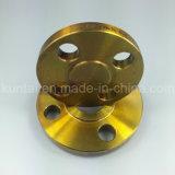 A105 en acier au carbone Slip-on bride forgé Bride avec revêtement jaune (Kt0007)