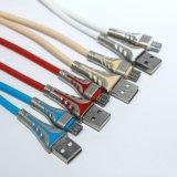 Alliage de zinc haute qualité du câble USB pour Android
