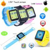 3G/WiFi de slimme GPS van Jonge geitjes/van het Kind Draagbare Drijver van het Horloge met Camera D18