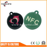 Kundenspezifische Gelee-Marke der Größen-Tk4100/F08 RFID mit farbenreichem gedruckt für Zugriffssteuerung
