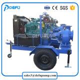 Motor diesel grande mistura de água de Fluxo da Bomba de Fluxo com reboques