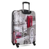 印刷するべき軽量のHardshell 4の車輪のスーツケース