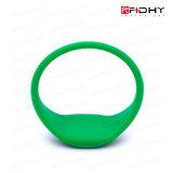 Wristband Revestido da Cor Non-Transferable RFID para a Identificação