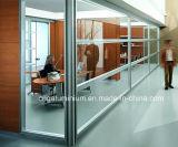 Frameless 유리제 사무실 칸막이벽