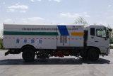 6 колес Dongfeng 8m3 сушат тележку метельщика дороги вакуума