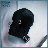 Custom обычная регулируемый Custom бархата бейсбола крышку с вашим логотипом