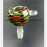 Farben-Hauptglasschlauch-Mann 14.5mm, 18.8mm Filter-Tabak-Rohr