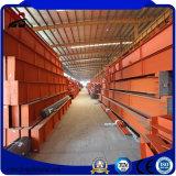 Costruzione prefabbricata della struttura d'acciaio del magazzino dei materiali del metallo da vendere