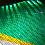 7 ans le PMMA signe de la circulation Utiliser la couleur d'adhésif prismatique qualité ingénierie film réfléchissant