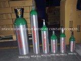 高圧携帯用小型空気アルミニウム二酸化炭素の酸素ボンベタンク