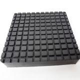 Rilievo di gomma quadrato del blocchetto dello Slip-on per gli elevatori del pacchetto della curvatura dell'automobile