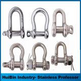 ハードウェアの手錠米国のタイプボルトタイプ鎖の手錠