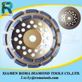 Double rangée de la cuvette de diamant Wheel-Diamond outils de meulage