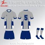 Healong a personnalisé le rugby Jersey de sublimation des vêtements de sport 3D de modèle
