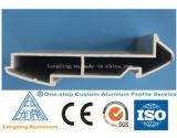 Profil d'extrusion de l'aluminium 6063, profil d'aluminium d'extrusion