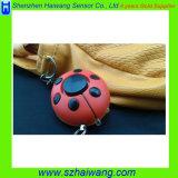 Persoonlijke Alarm van het Lieveheersbeestje van het Apparaat van de beschermer het Anti-diefstal voor Enige Dame