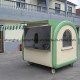 옥외 Crepe 음식 간이 건축물, 판매 Jy-B43를 위한 이동할 수 있는 피자 음식 손수레