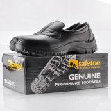 Zapatos de seguridad de cocina profesional con PU inyección L-7019 Negro