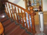 최신 판매 건축재료 단단한 나무 계단 손잡이지주