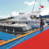 HDPE, das Plastikdock für Boot schwimmt