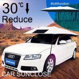 Commande à distance de marche arrière Sunclose parapluie automatique capot de voiture Serviette de housse de siège de voiture