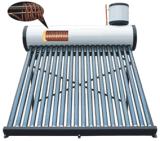 加圧銅のコイルによって予備加熱される太陽給湯装置システム