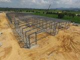タイへの研修会のための鉄骨構造
