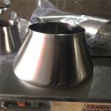 Riduttore concentrico duplex dell'acciaio inossidabile Dn400xdn300