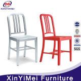 prix d'usine aluminium chaise de salle à manger de la Marine pour la vente