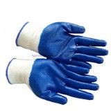 Нейлоновое покрытие нитриловые перчатки Маслостойкий