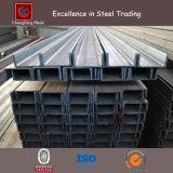 Baixo carbono JIS Ss540 Mild Steel U Channel Steel para Windows / Máquinas (PFC UPN UPE)