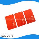 carte sèche d'identification de proximité mince en plastique de PVC 125kHz