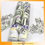 Euro und USD Dollar-Druckluftconfetti-tireur