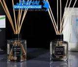 De modieuze Fles van het Glas voor Parfum en Schoonheidsmiddel