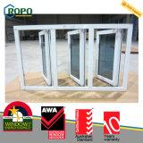 Janelas e portas de PVC de plástico econômico