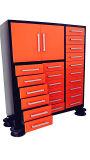 Heavy Duty directa de fábrica Garaje hogar/oficina/cajón de metal Armario de herramientas