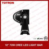 """13.5"""" 72W curvos lado de la carretera Barra de luz LED con el CREE LED (TLB3072X)"""