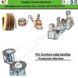 プラスチックPVC家具の端バンドPVCシートのプロフィールの製造業の機械装置