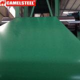 O material de folha da telhadura Prepainted a bobina do aço PPGI para a venda