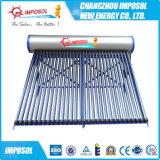 солнечный водонагреватель Unpressurized проекта для домашнего использования